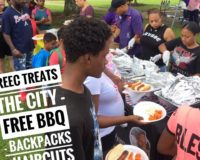 PAYUSA & Reec Treat The City Free BBQ & Back To School Give Away