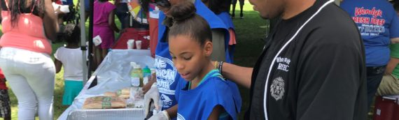 Hundreds Get Stuffed Book Bags and Good Food at Reec & PAYUSA's Free Block Party