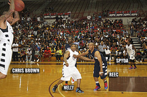 Chris Brown, Nelly, Reec & Spyda @ HotShots Game