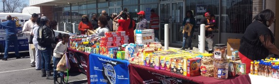 FREE grocery giveaway today hosted by Reec of Hot 107.9! Sunday 5/18 @2:00pm!