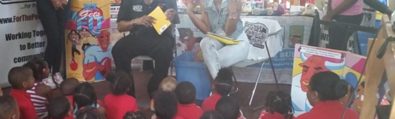 Hot 107.9's Reec &TV Star Kelsey Nykole Give Back by Reading with PAYUSA
