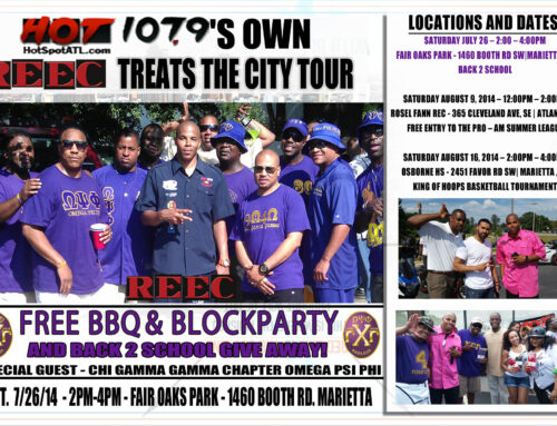 Join Us Saturday for a Free BBQ & Back 2 School Give Away!