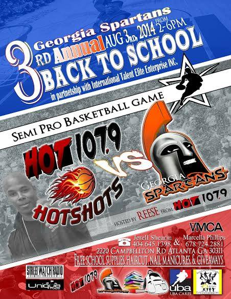 PayUsa, The Hot 107.9 Hotshots, Reec & GA Spartans Bring You A Celebrity Back 2 School Bash!
