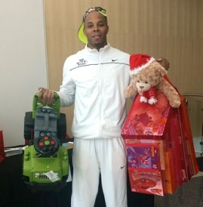REEC Drops off Toys Courtesy of PAYUSA At Hoopin For Tots