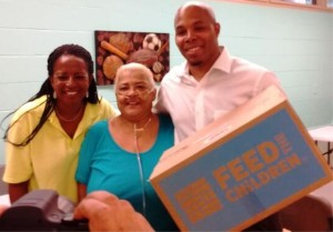 Carol (LTFAL), Free Grocery Recipient, REEC (Hot 107.9)