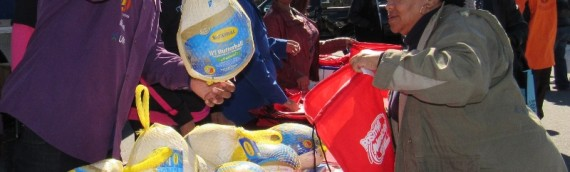 Positive American Youth Held a Turkey Give Away for families in need during The Center For Black Women's Wellness …
