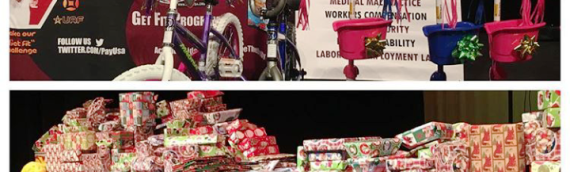 680 Families Receive Gifts for our Big Toy Give Away!