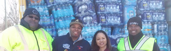 Over A Thousand Cases of Water raised for Flint Residents!