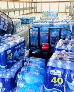 Truck of water