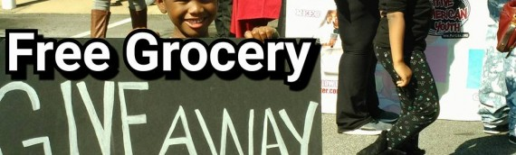 Free Grocery Give Away Sunday 3/6 @1pm