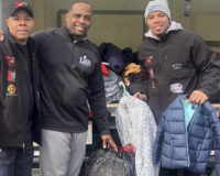 Special Thanks To All Those That Donated Coats & Cans!