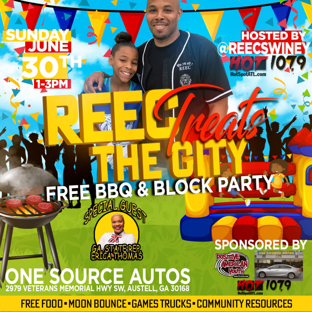 FREE BBQ AND BLOCK PARTY WITH GAMES TRUCKS & MORE - 6/30/19