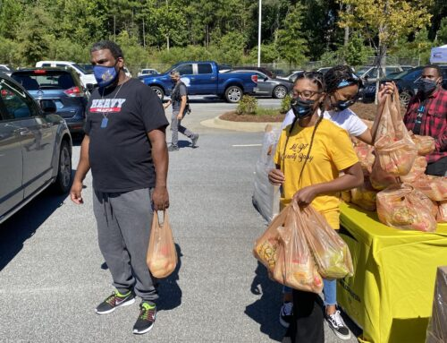 900+ Families Served Free Grocery & House Hold Items